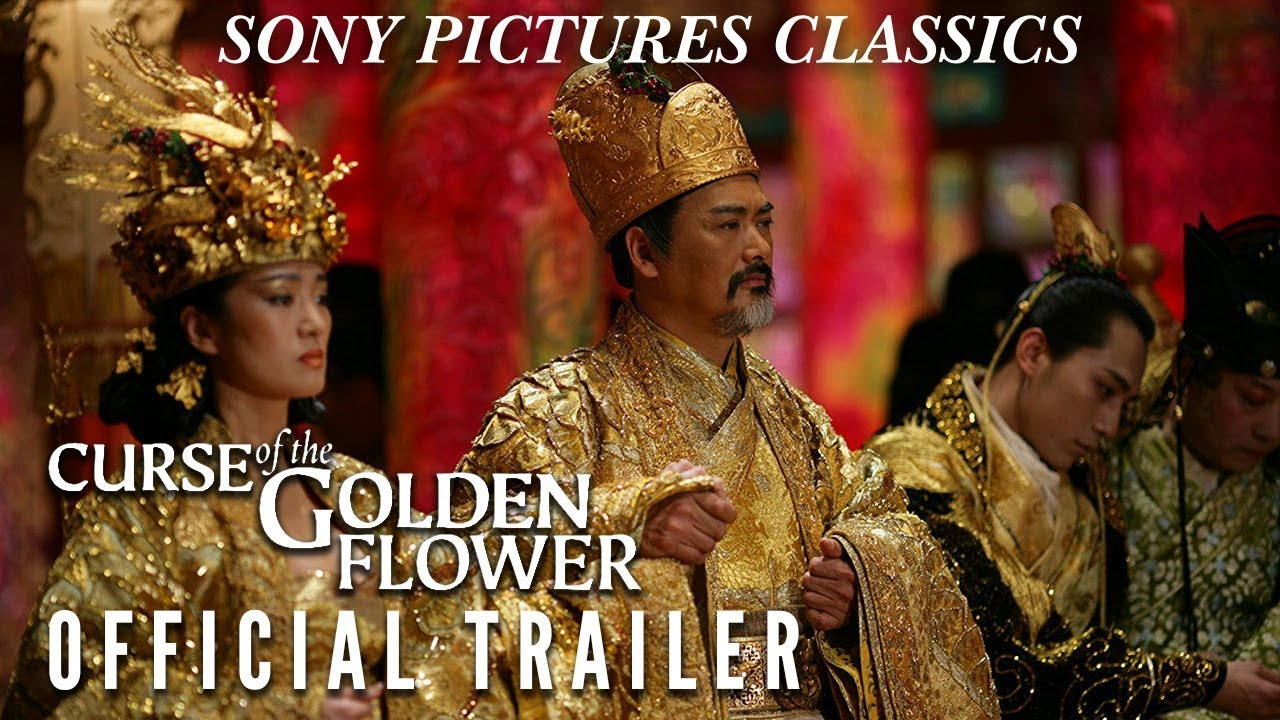 Curse Of The Golden Flower Official Trailer 2006 Youtube