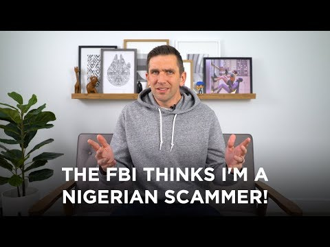 The FBI is onto my channel!