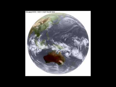Tropical Cyclone Winston Hourly.