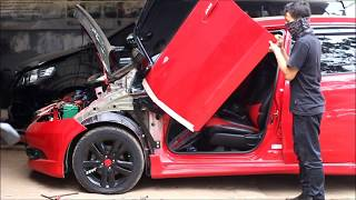 Tutorial pemasangan lambo door/ gullwing.