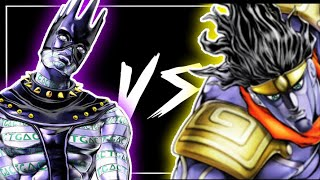 Your bizarre adventure (YBA) White snake vs Star Platinum the world (SPTW)