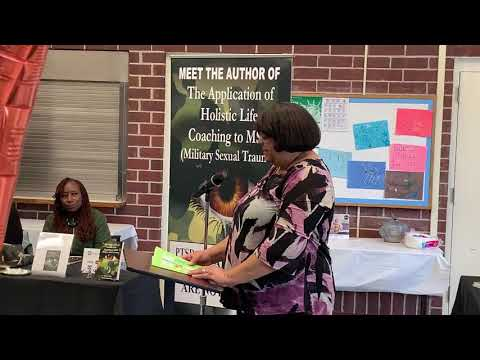 Valarie's Presentation At The Friends Of North Chicago Public Library Author's Conference