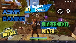 ASMR Gaming | Fortnite Power Of The Lucky Pumpernickle Dance ★Controller Sounds + Whispering☆