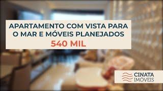 🚫vendido - Apartamento com vista para o mar por R$ 529.900,00 mil no Altiplano.