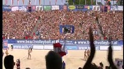 Beachvolleyball EM 2013 Damenfinale Klagenfurt