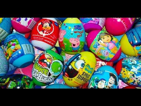 150 Huevos Sorpresas - Peppa La Cerdita,Huevos Kinder Sorpresas Dora la exploradora y Mucho Mas Travel Video