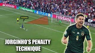 Analysis of Jorginho39s Penalty Technique