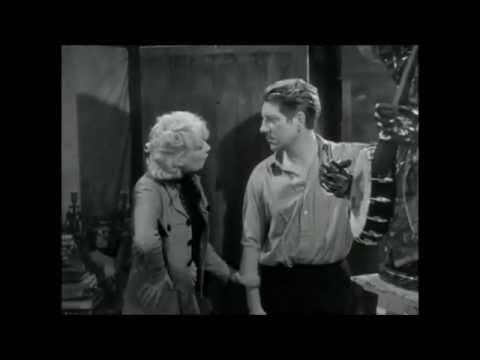 """Jean Gabin et Suzy Prim dans """"Les bas-fonds"""" (de Jean Renoir, 1936)"""