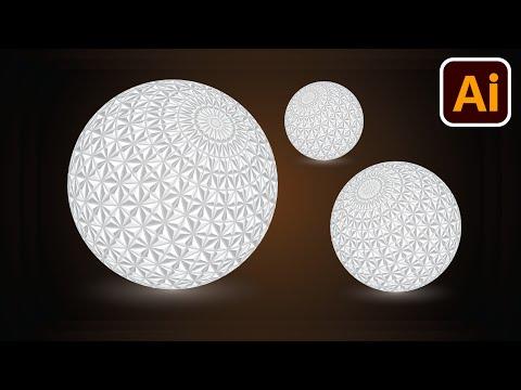 Illusion balls | Best logo design | 3D logo design | Adobe illustrator tutorials | 001 thumbnail