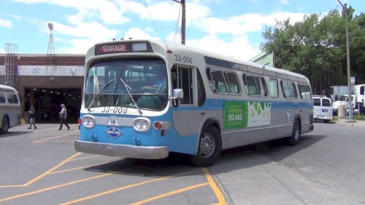 Vintage gm Dreamliner Bus