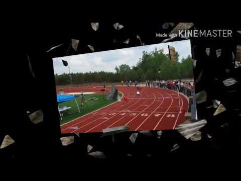 Our Lady of Mercy Catholic High School Track Team - Caleb Pressley 4x100 qualifiers