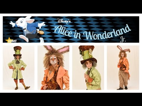 Meet the Mad Hatter and March Hare!