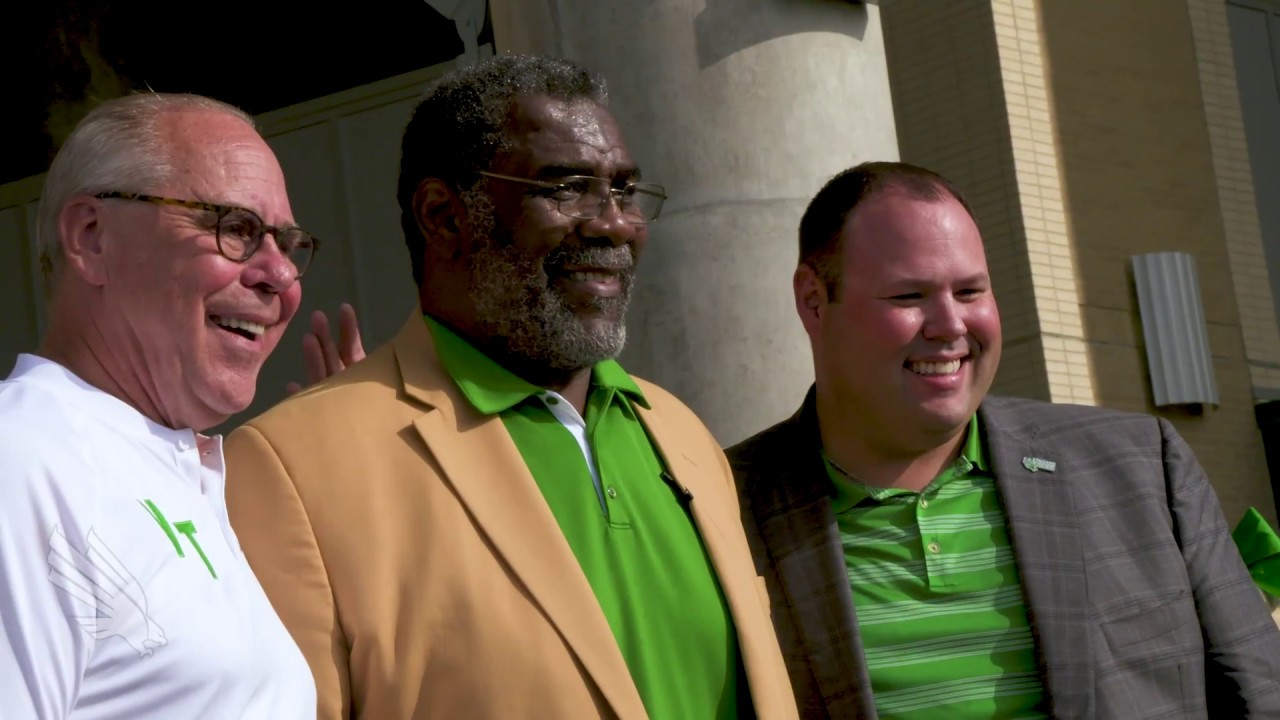 18df24bad5c North Texas Athletics: Joe Greene Statue Unveiling - YouTube