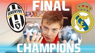 ¡PREDICCIÓN FINAL CHAMPIONS LEAGUE! JUVENTUS vs REAL MADRID