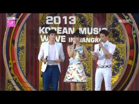 130407 MC Nichkhun 2PM Suzy Miss A Minho SHINee Korean Music Wave BKK
