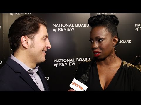 Adepero Oduye at the National Board of  Gala with Arthur Kade