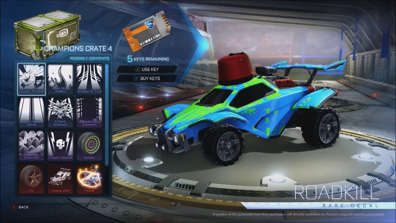 how to get crate keys in rocket league free
