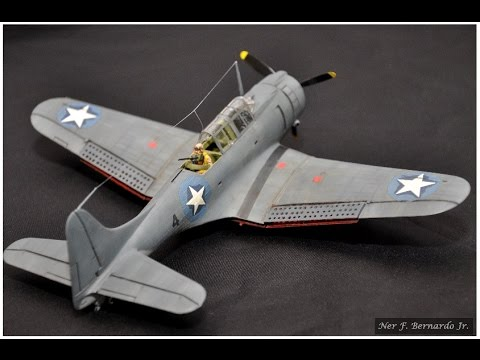 SBD Dauntless 1/48 by Revell  Build Sequence