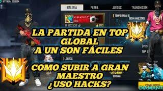 Las partidas en top global aún son fáciles? cómo subir a gran maestro ¿USO HACKS? toda la verdad 😱