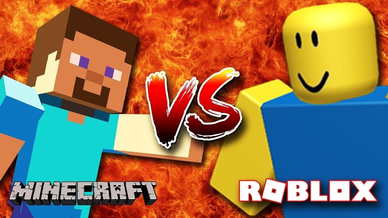 Fortnite Vs Minecraft Vs Roblox Youtube