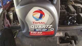 Замена масла Citroen 1,6 TU5JP4