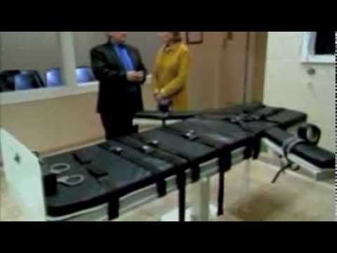The Death House at Angola -- the Lethal Injection Chamber