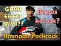 Unboxing dan Preview Ammoon Pockrock Guitar multi Effect termurah di shopee