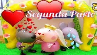 ❤ PEPPA PIG ❤ DANNY DOG ESCOGE A PEPPA PIG | Videos y juguetes de Peppa Pig