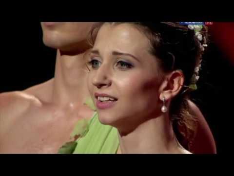 Anna Tikhomirova and Artem Ovcharenko in Spring Water PDD, 28.10.2012 Culture Channel Bolshoi Ballet