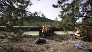 Bridge Creek Pipeline Construction Continues