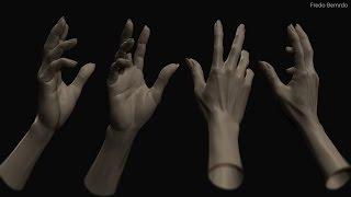 Dracula: Vamp's Hand (Zbrush Timelapse)