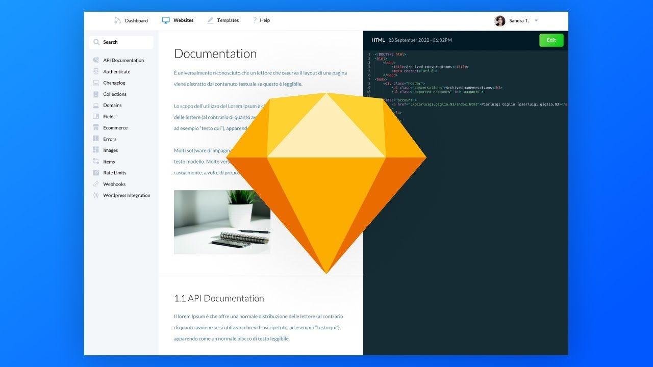 App Di Design dashboard web app ui ux design: sketch tutorial for beginners