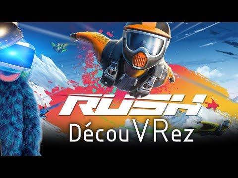 DécouVRez : RUSH VR   A Toute Vitesse + Dédicaces Ludopolis (PSVR) PS4 Pro   VR Singe