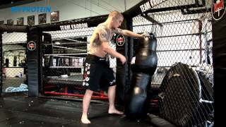 UFC's Andy Ogle: Takedown against the cage