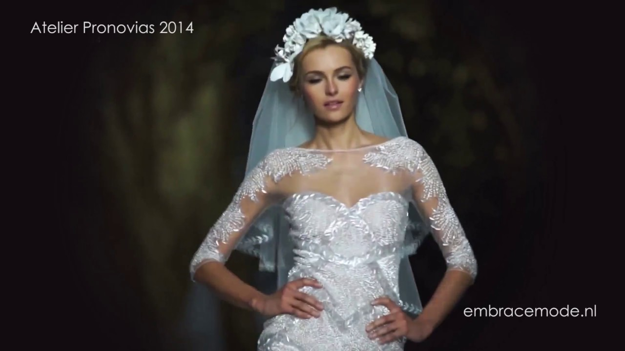 Atelier Pronovias 2014 bruidsmode collectie Embrace