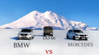 BMW vs Mercedes vs УАЗ vs ГАЗ
