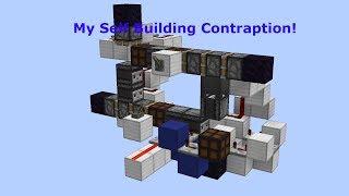 Mumbo's Self Building Redstone Contraption | redstone challenge