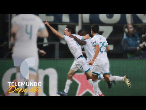 "Chucky Lozano le devuelve ""favor"" al coreano Son en Champions League   Telemundo Deportes"