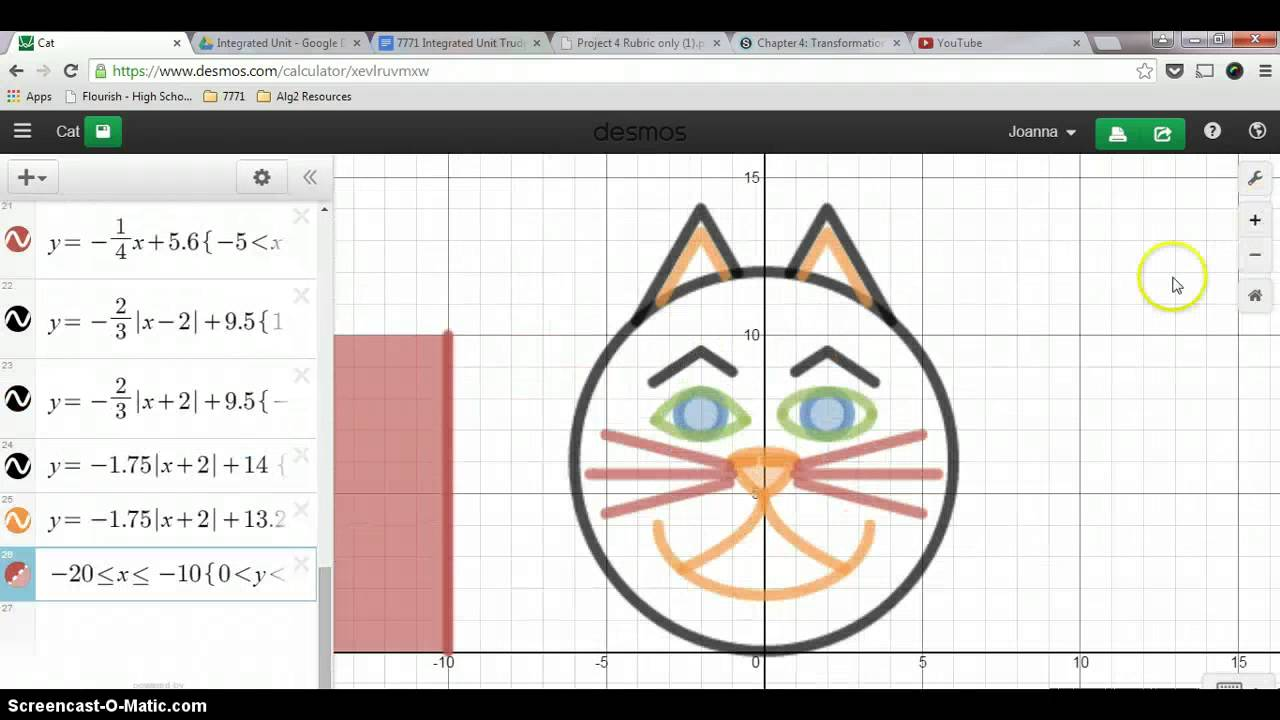 Desmos Project - Advanced Features