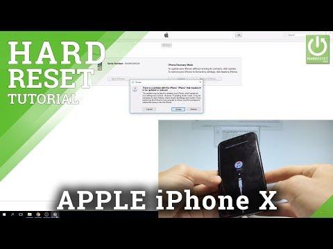 APPLE IPhone X FACTORY RESET / Bypass Passcode & Face ID