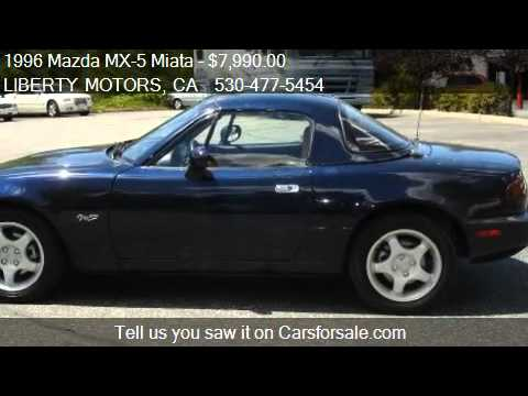 1996 mazda mx 5 miata m edition for sale in grass valley youtube. Black Bedroom Furniture Sets. Home Design Ideas