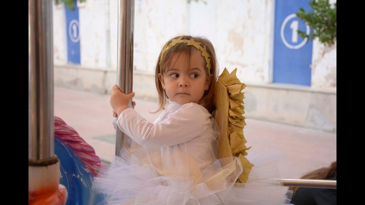 Disfraz de ngel sin coser angel costume youtube for Disfraces de angeles