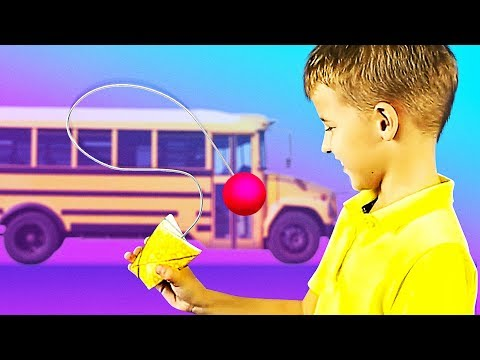 BORED ON A BUS HACKS || 11 COOL THINGS TO DO ON A SCHOOL BUS