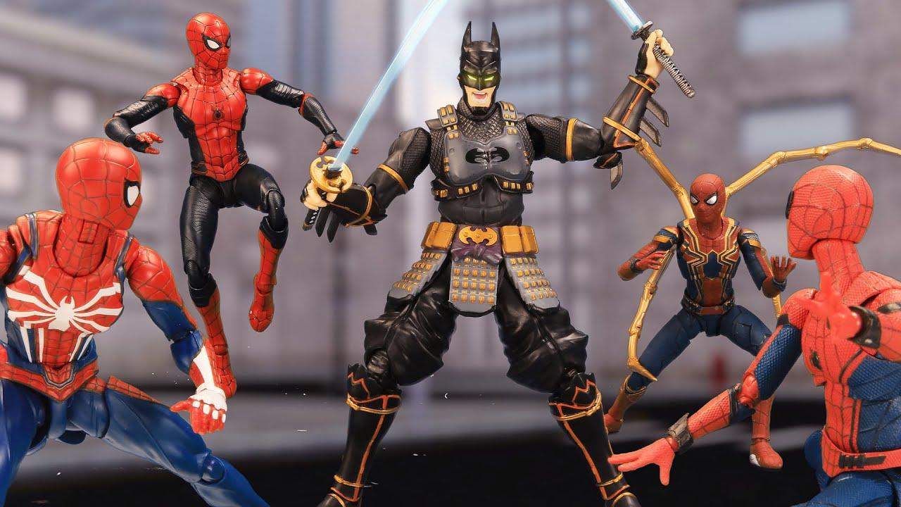 SPIDER MAN: Batman Ninja in the Spider-verse | Figure Stopmotion
