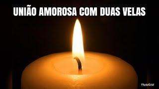 Acender duas velas juntas amor