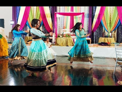 SAMNAV OFFICIAL ( Gaye Holud / Mehndi ) Dance