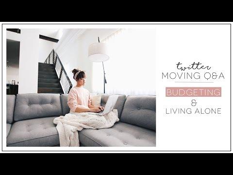 THE MOVE   Budgeting, Living Alone, Moving Downtown   ilikeweylie