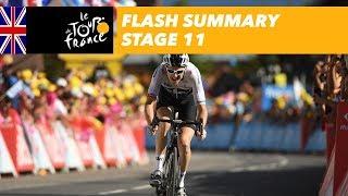 Flash Summary - Stage 11 - Tour de France 2018