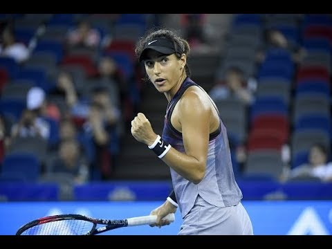 2017 Wuhan Quarterfinals | Caroline Garcia vs. Ekaterina Makarova | WTA Highlights
