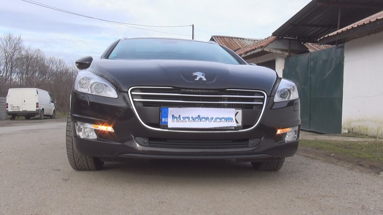 test drive of peugeot 508 sw active 2 0 hdi 140 fap bvm6 2011 youtube. Black Bedroom Furniture Sets. Home Design Ideas
